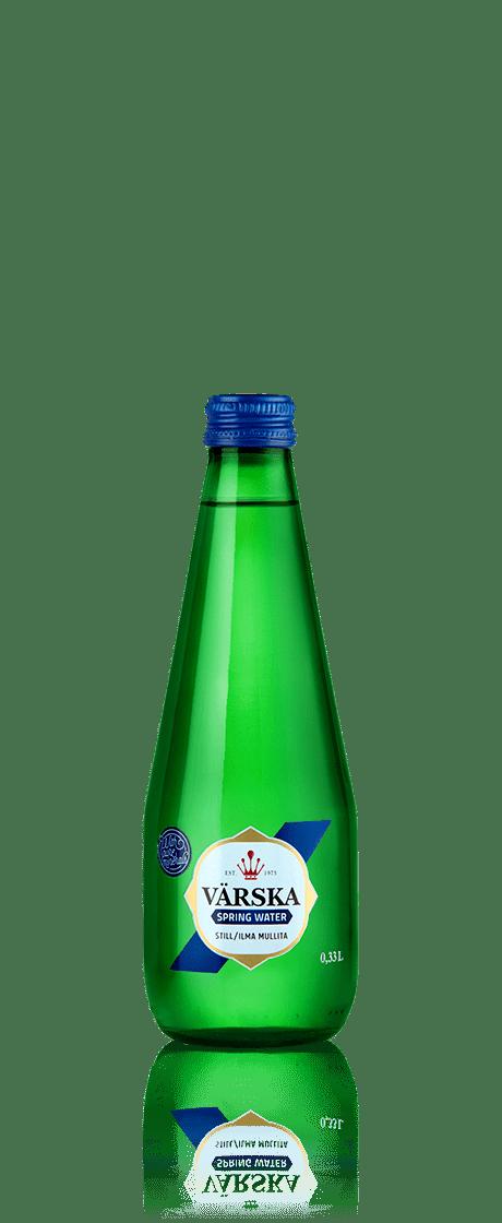"""Mineraalvesi """"Värska Allikavesi"""" 0.33 L, mullita"""