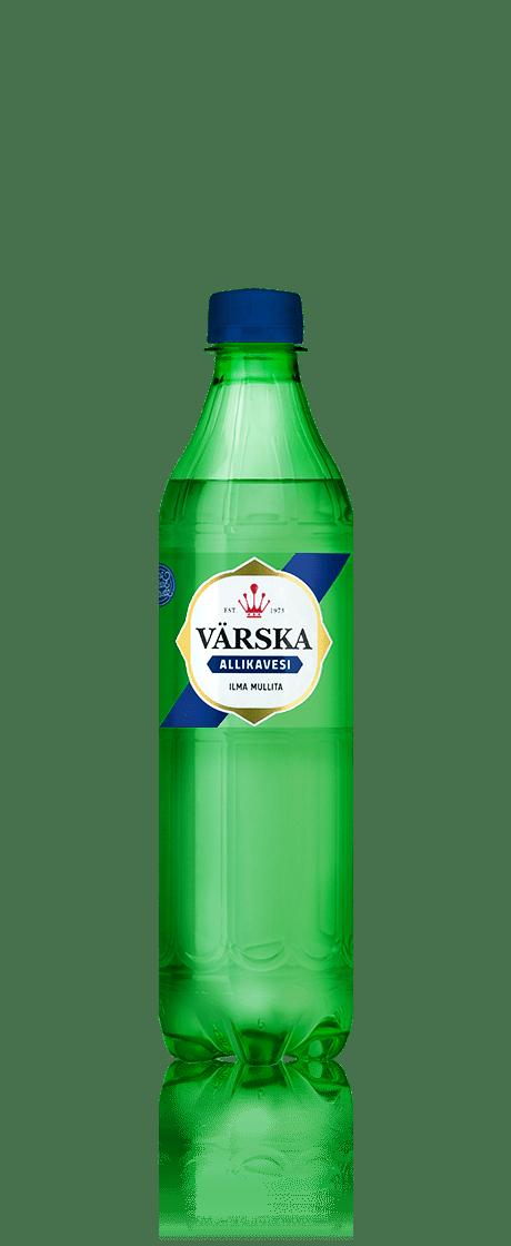 """Mineraalvesi """"Värska Allikavesi"""" 0.5 L, mullita"""
