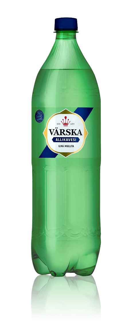 """Mineraalvesi """"Värska Allikavesi"""" 1.5 L, mullita"""